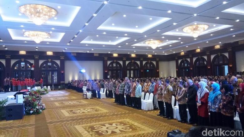 Di Depan Para Gubernur, Jokowi Sebutkan Jumlah Kepala Daerah Korupsi