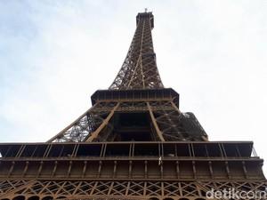 Butuh Duit Berapa Naik ke Menara Eiffel?