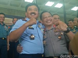 Bertemu Panglima, Kapolri Bicara soal Tentara dan Polisi yang Kuat