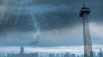 Hujan Lebat Guyur Jakarta, 4 RT dan 3 Jalan Tergenang