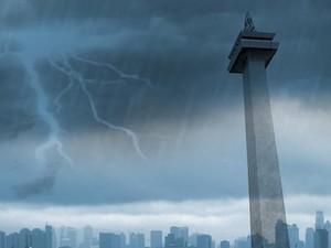 Curah Hujan Tinggi Diprediksi Landa Jakarta Selama Pekan Ini
