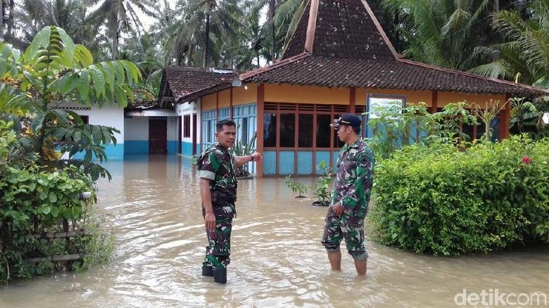 Tanggul Sungai Jebol, Ratusan Rumah di Kulon Progo Kebanjiran Lagi