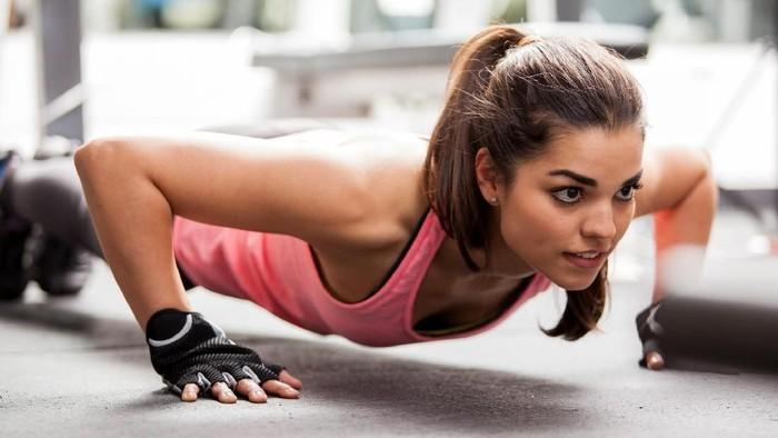Ilustrasi push up. Foto: thinkstock