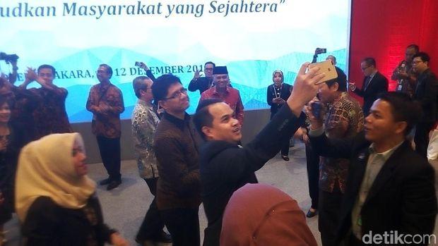 Saat 5 Pimpinan KPK Berjoget di Penutupan Hari Anti Korupsi
