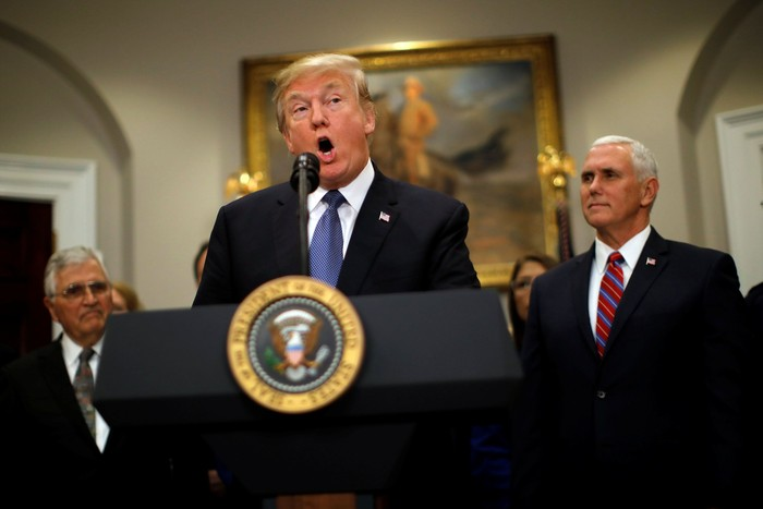 Donald Trump. Foto: REUTERS/Carlos Barria