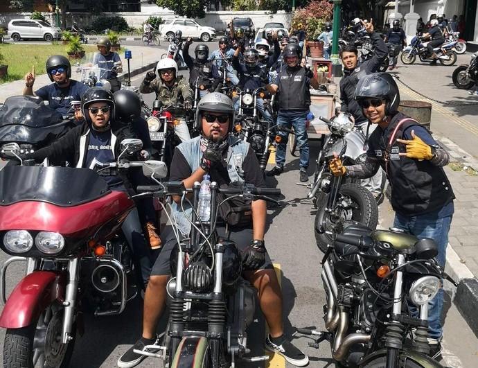 Ketika Pecinta Harley-Davidson Sportster Sambangi Jogja