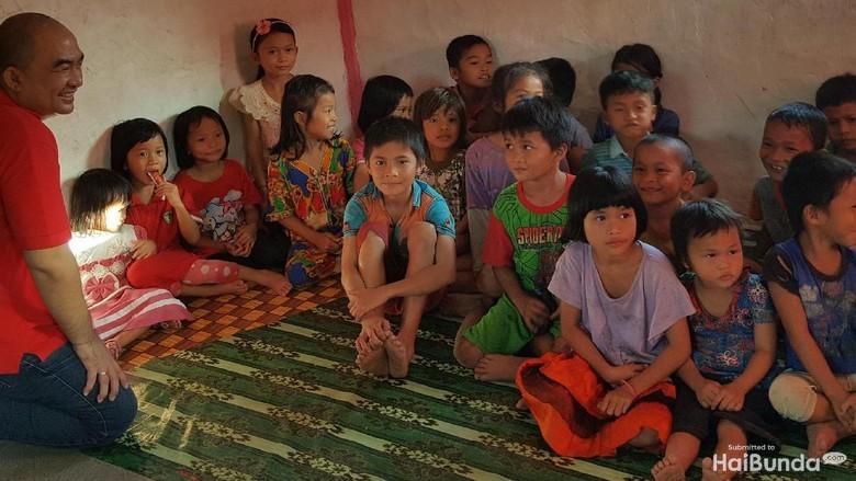 Belajar Bersyukur dari Anak-anak yang Mengalami Gizi Buruk/ Foto: Nurvita Indarini