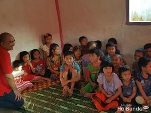 Belajar Bersyukur dari Anak-anak yang Mengalami Gizi Buruk