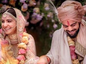 Ini Foto Pertama Anushka Sharma dan Virat Kohli Usai Menikah