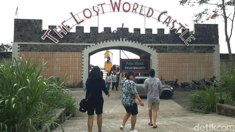 The Lost World Castle (Shinta/detikTravel)