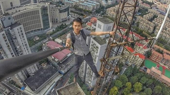 Salah satu aksi Yong Ning. Foto: Weibo