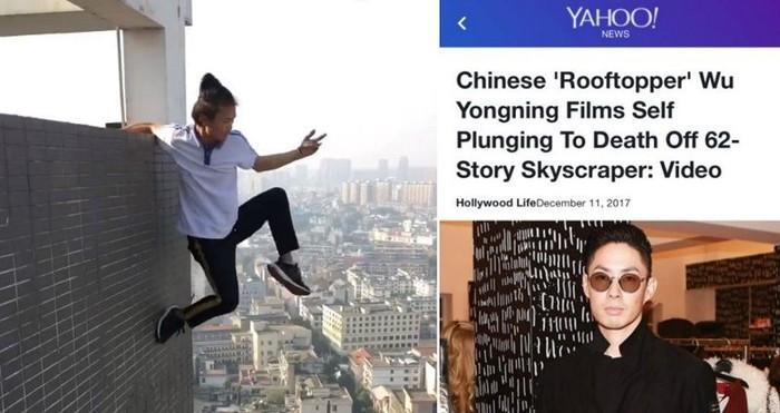 Foto Vaness Wu di Yahoo. Foto: istimewa
