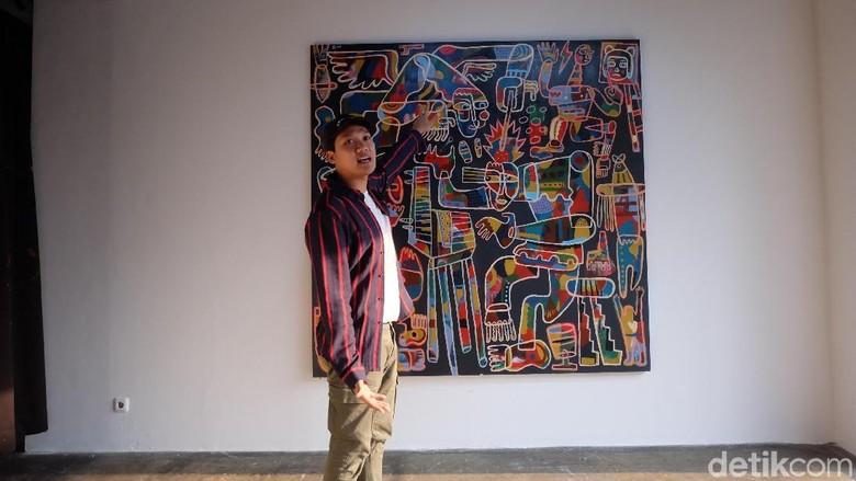 Bagi Abenk Alter, Melukis adalah Panggilan untuk Lebih Kreatif