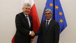 Persoalan Timur Tengah Dibahas Dalam Pertemuan Wamenlu RI-Polandia