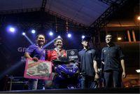 Dhimas Thuntry Sukma Putra (Kisaran) pemenang Best of The Best Nmax Regional Sumatera Utara (Foto: Dok Yamaha)