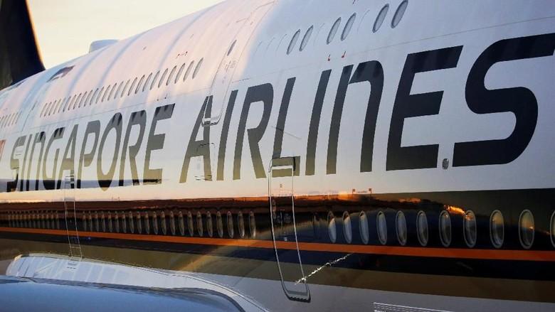 Ilustrasi maskapai Singapore Airlines (Regis Duvignau/REUTERS)