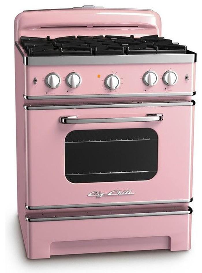 Sebagai modal utama saat memasak, Anda harus memiliki kompor. Satu set kompor dengan oven ini tampak cantik jika ada di dapur Anda. Foto: Istimewa