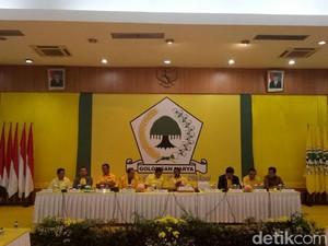 Foto: Golkar Pleno Tentukan Nasib Setya Novanto Sebagai Ketum