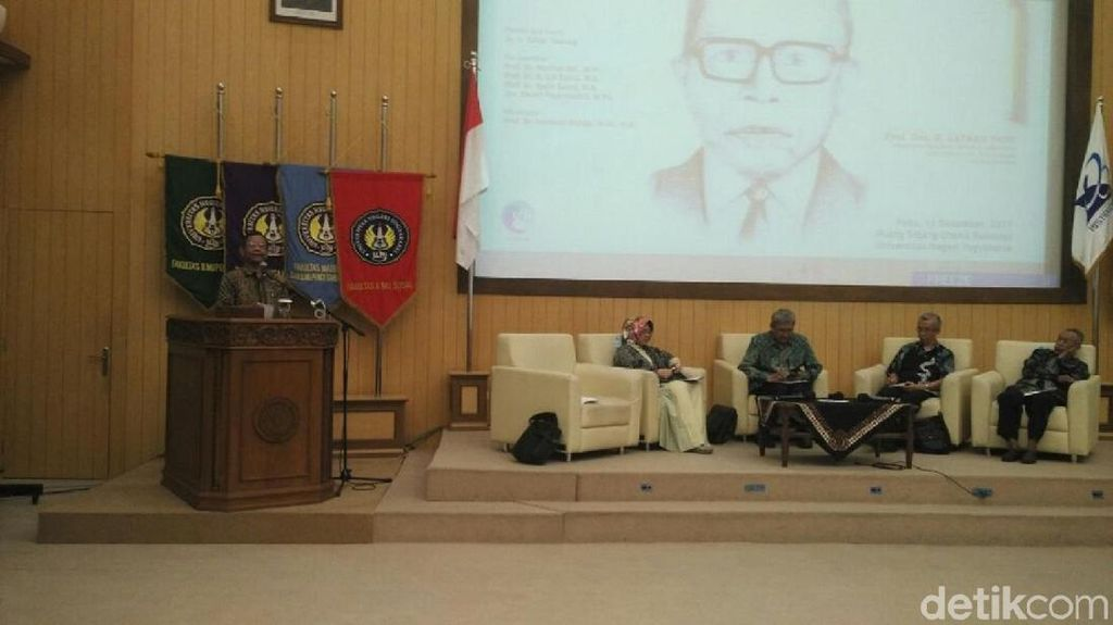 Mahfud MD: Lafran Pane Sumbangkan Pemikiran Soal Konstitusi