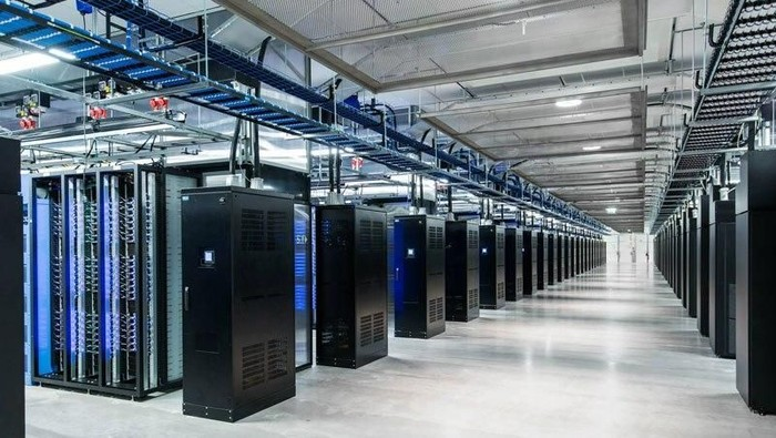 Foto ilustrasi data center: Facebook