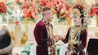 Mantan kekasih Laudya Cynthia Bella, Afif Kalla resmi mempersunting Tistha Nurma. Foto: Instagram/tisthanurma