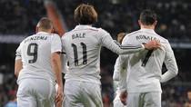 Trio BBC Real Madrid Cuma Tersisa Benzema