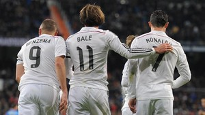 Ronaldo Menantikan Trio BBC