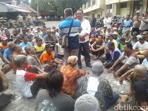 Kecewa Polisi, Ratusan Pengemudi Bentor di Ponorogo Wadul Bupati