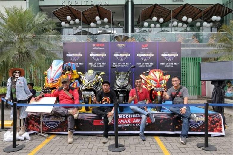 Best of The Best Nmax Regional Sumatera Utara (Foto: Dok Yamaha) Foto: yamaha