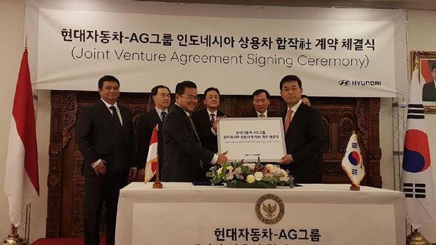 Produsen Otomotif Korea Mau Bangun Pabrik Bus dan Truk di Karawang