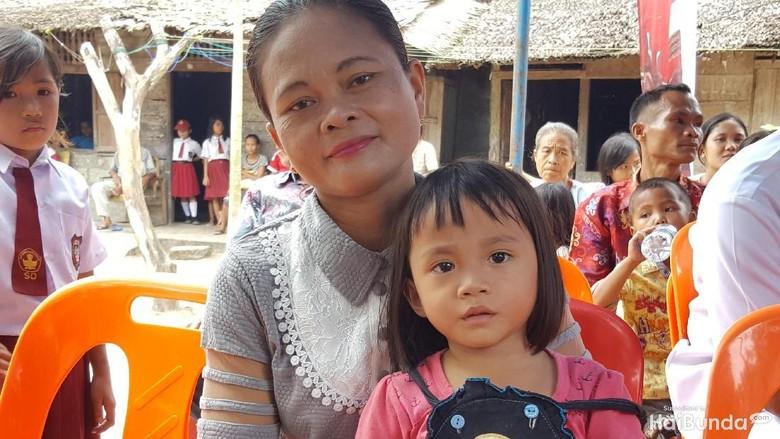 Agustina ditinggal suami dan harus membesarkan 5 anaknya/ Foto: Nurvita Indarini