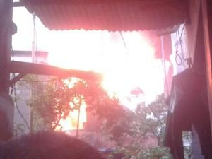 Kebakaran di Sunter Jakut, 10 Unit Mobil Pemadam Dikerahkan