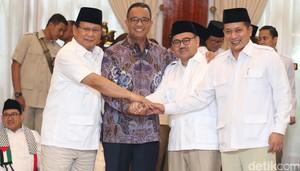 Gubernur Anies Hadiri Deklarasi Cagub Jateng Sudirman Said