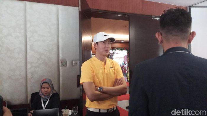 Lee Jung Jin akan tampil di Indonesia Masters 2017. (Yanu Arifin/detikSport)