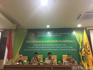Kongres Pertama Alumni Doktor Fikom Unpad Soroti Berita Bohong