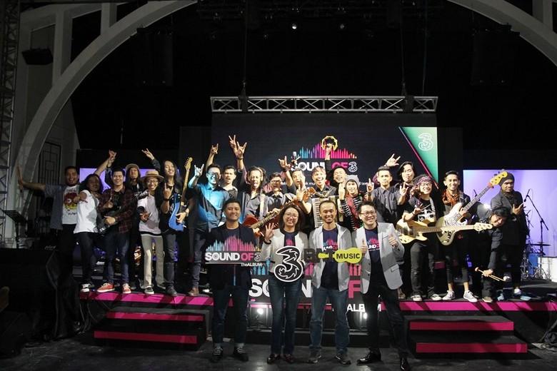 Foto: Digital Album Sound Of Tri, Talenta Lokal yang Mendunia