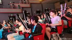 Penampakan Ramainya Kejuaraan Dunia Vainglory di Singapura
