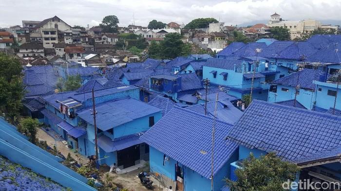 Kampung Biru, Wisata Tematik Baru Kota Malang