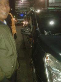 Tabrakan Dua Mobil Di Gerbang Tol Tebet, Pengemudi Diduga Mabuk