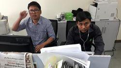 Setahun Penahanan 2 Jurnalis Myanmar
