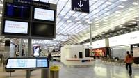 Di peringkat 9, ada Bandara Charles de Gaulle di Paris. Ia berada di peringkat itu dengan total poin 250 (Bertrand Guay/AFP/Getty Images)
