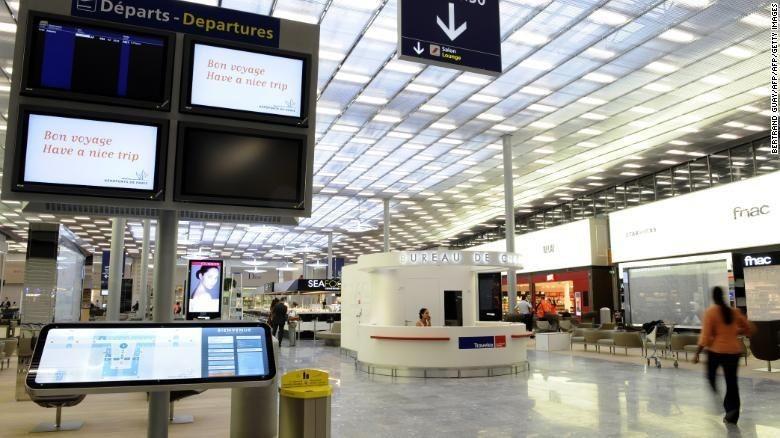 Foto: Bandara Charles de Gaulle (Bertrand Guay/AFP/Getty Images)