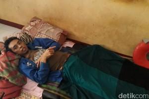 Derita Roni, Warga Bandung yang Lumpuh Akibat Kecelakaan Kerja