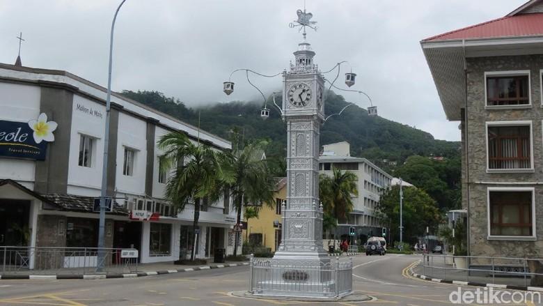 Clock Tower, monumen nasional di Kota Victoria, Seychelles (Fitraya/detikTravel)