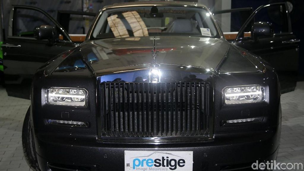 Rolls-Royce Rp 25 Miliar Ini Masih Diminati Orang Kaya RI