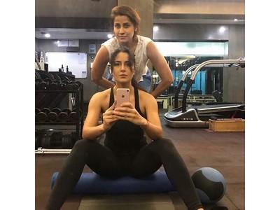 Foto: Bolak-balik ke Gym, Rahasia Bugar Aktris Bollywood Katrina Kaif