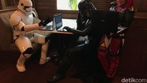 Ketika Darth Vader dan Stromtroopers Sibuk Main Laptop