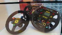 Setir Mobil F1, yang Lebih Rumit dari Setir Mobil Biasa