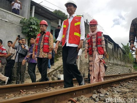 Jalur Ganda KA Bogor-Sukabumi Tahap I Dibangun Sepanjang 7 Km.