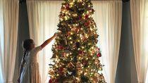 Kakak-Adik Buka Jasa Hias Pohon Natal Biayanya Rp 200 Ribuan Per Jam
